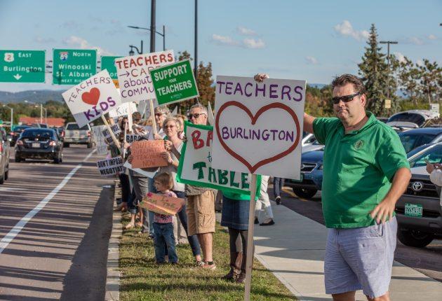 Burlington School Board agrees to meet with teachers