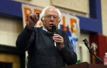 Sanders swing through Bennington draws 700
