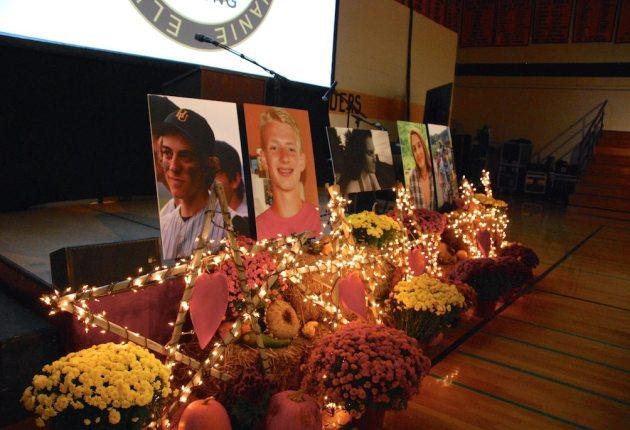 Harwood celebrates lives of five students killed in crash