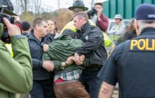 Six gas pipeline protesters arrested in Hinesburg