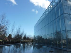 The Jaqua Academic Center for Student Athletes, Eugene, Ore. Photo by Donald M. Kreis