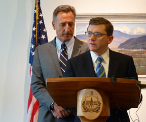 Gov. Peter Shumlin has appointed Neale Lunderville as the state's Irene Czar. VTD/Anne Galloway