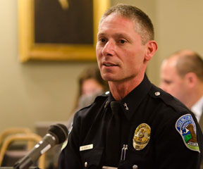 Burlington Police Chief Michael Schirling. VTD/Josh Larkin