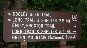 Emily Proctor Trail sign