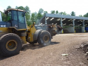 The Green Mountain Compost facility. Photo by Kate Robinson