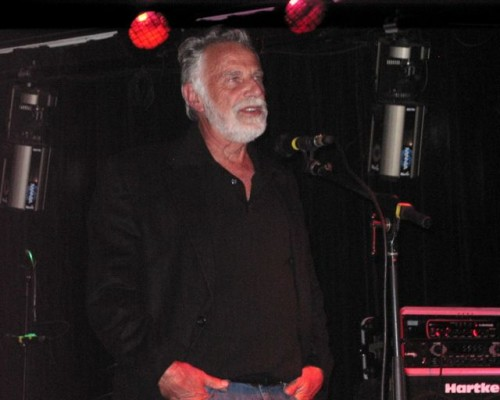 Actor Jonathan Goldsmith at Nectar's in Burlington. Photo by Greg Guma