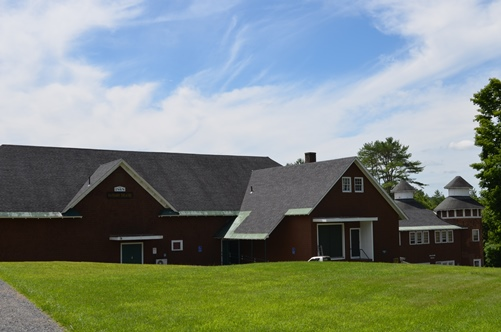 Goddard College's Haybarn Theater in Plainfield. Photo by Alicia Freese/VTDigger