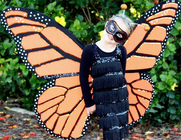 Костюмы бабочки своими руками фото