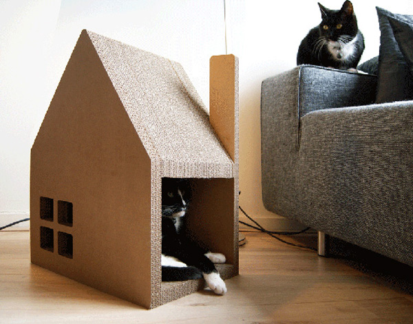 Двери для кошки своими руками