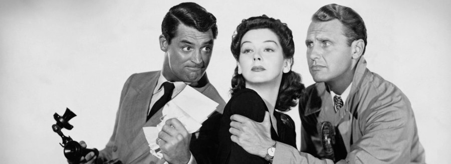 his girl friday blu-ray review cary grant rosalind russell