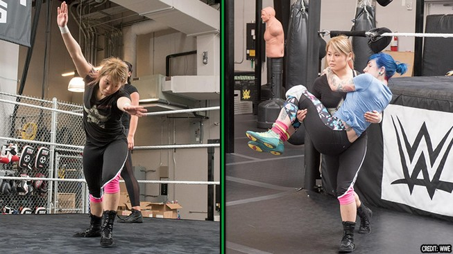 Io Shirai tryout