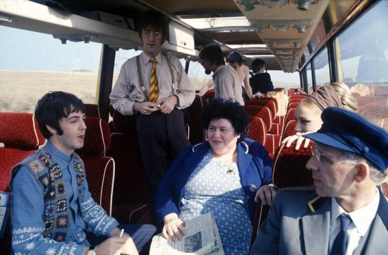 Magical Mystery Tour Bus Interior