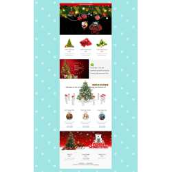Small Crop Of Christmas Newsletter Template