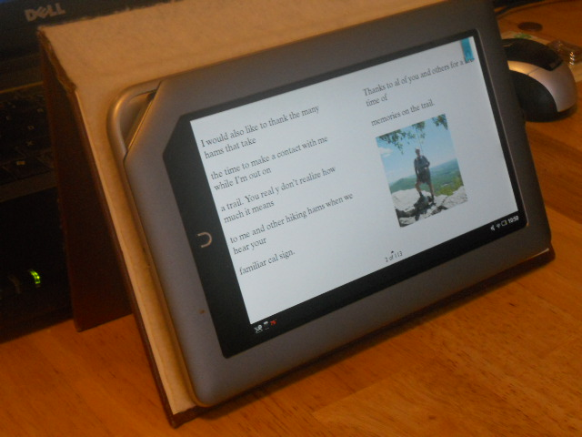 NOOK Tablet for Ham Radio (and other uses) (3/3)