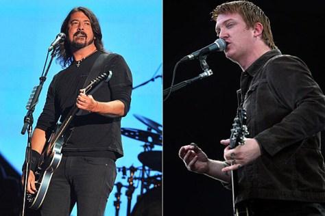 Dave Grohl entra al estudio con Josh Homme y Jesse Hughes