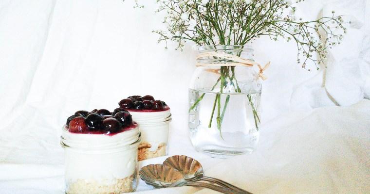Cheesecake in a jar