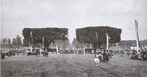 Alun Alun Lor tahun 1888 Foto Foto Kota Jogja Tempo Doeloe