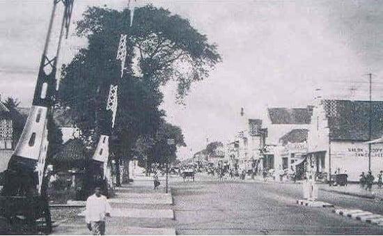 Jalan Malioboro tahun 1936 Foto Foto Kota Jogja Tempo Doeloe