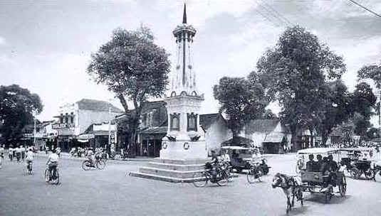 Tugu Yogya tahun 1928 Foto Foto Kota Jogja Tempo Doeloe