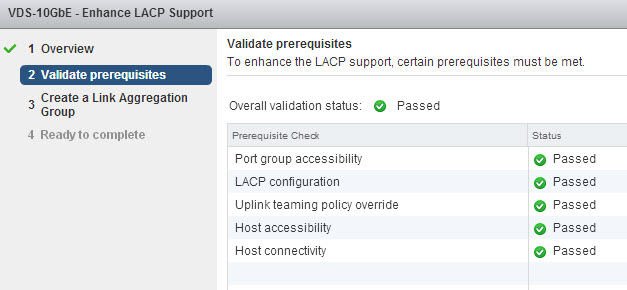 Validating that your environment is happy enough for enhanced LACP