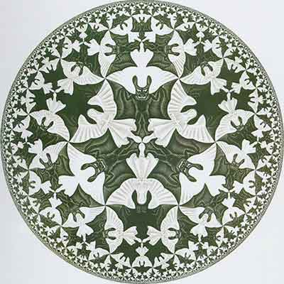 Da Circle by Escher