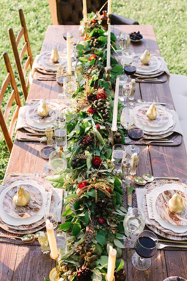 Fall Tabletop Ideas, Waiting On Martha
