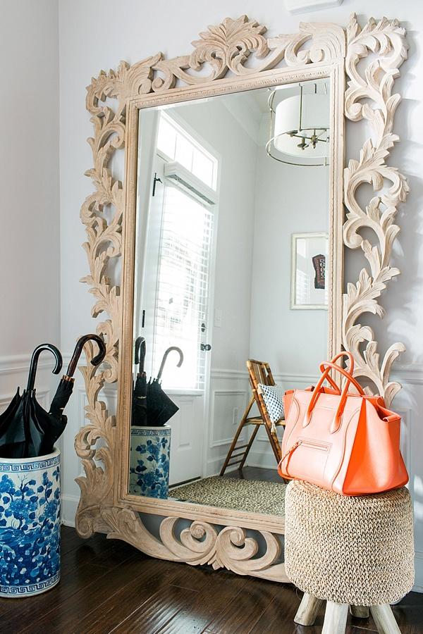 Entryway styling ideas via Waiting on Martha