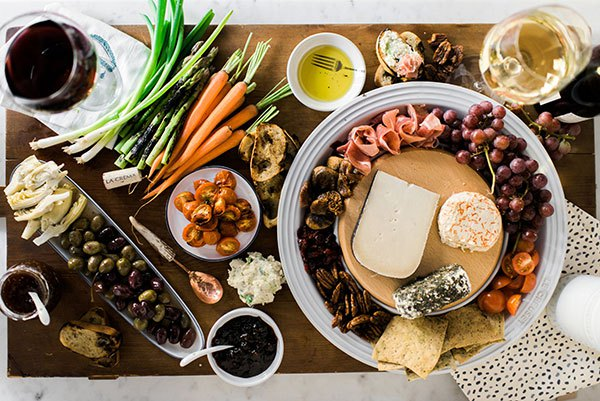 Cheese plate inspiration via Waiting on Martha