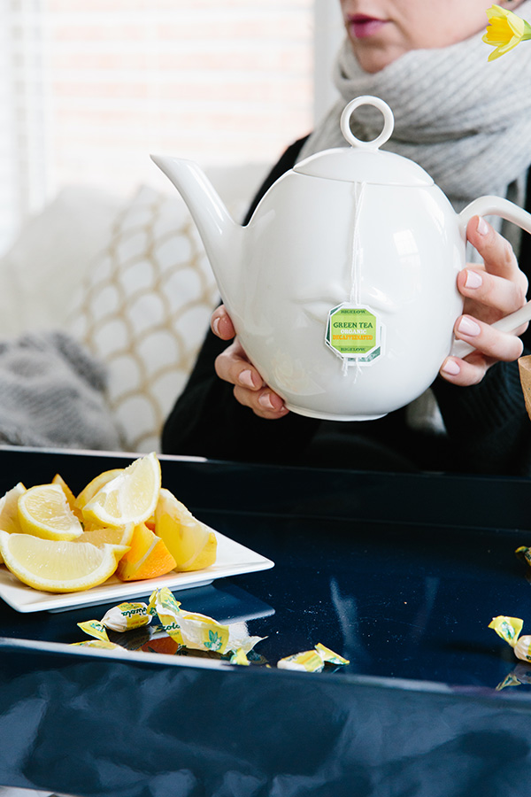 SIP ON HOT TEA