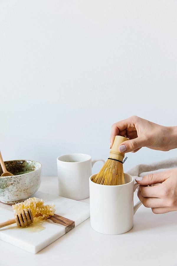 Hot matcha tea at home | waitingonmartha.com