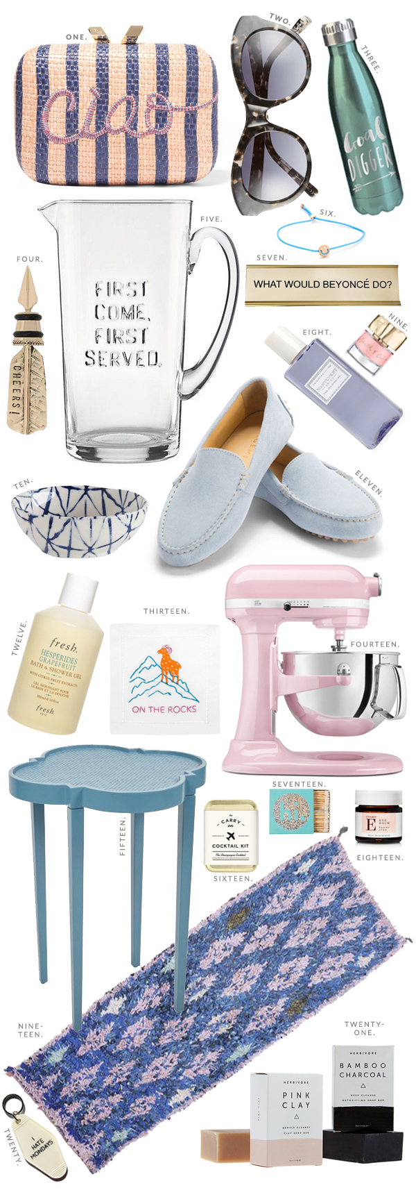 Rose quartz and serenity currently coveting product picks