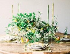 Cheery Easter tablescape via Waiting on Martha