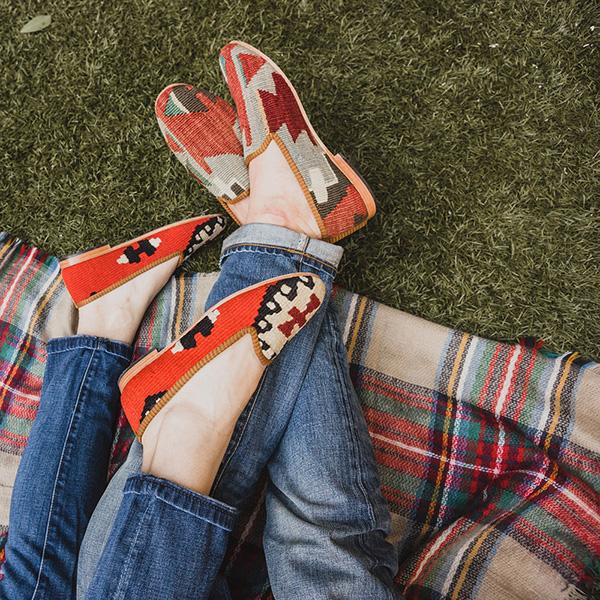 Kilim loafers by Res Ipsa | waitingonmartha.com