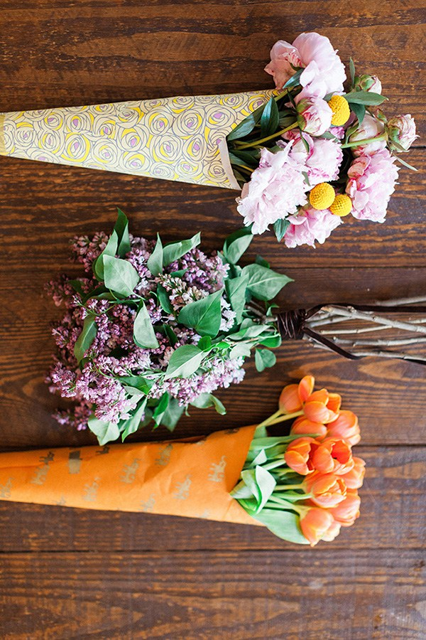 Simple flower arrangements for hostess gifts
