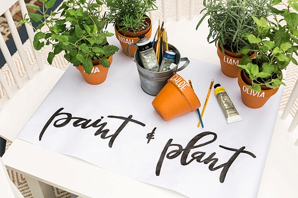 DIY paint & plant idea, @waitingonmartha