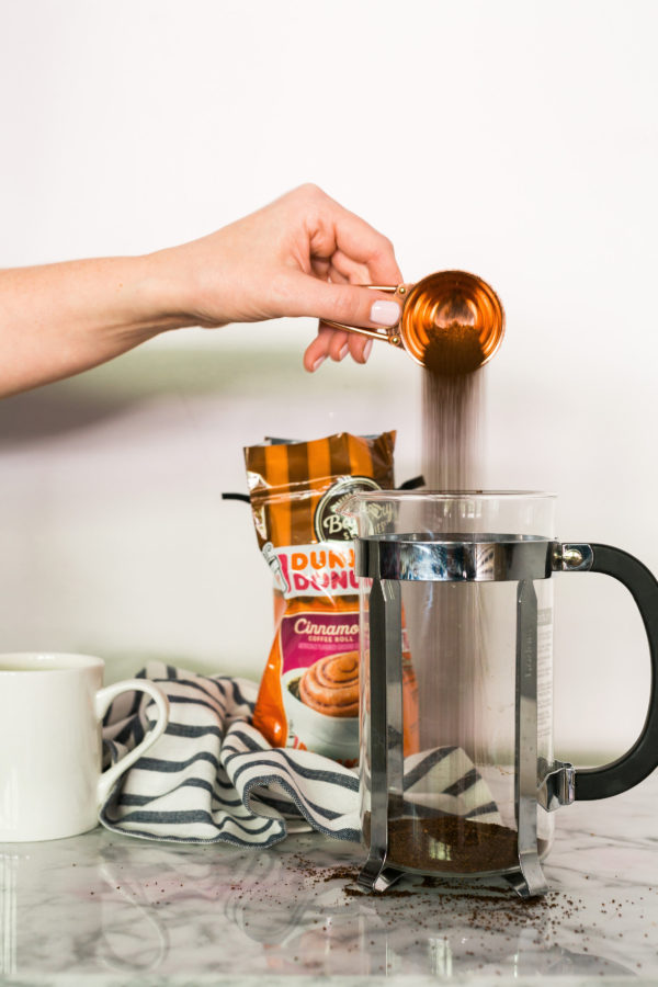 Dunkin' At Home bakery series coffee is SO good. @waitingonmartha @dunkindonuts #spon #coffee
