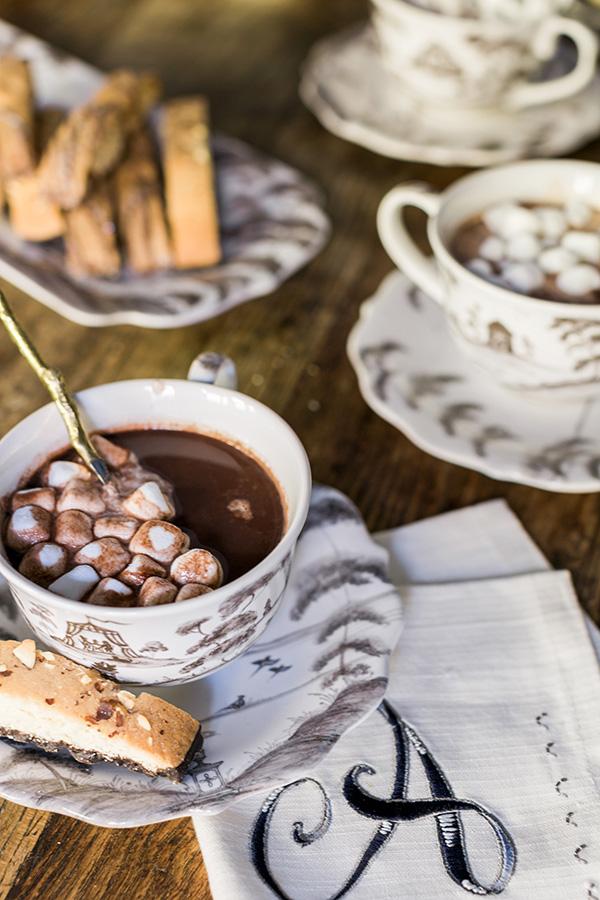 Red Wine Hot Chocolate recipe by @waitingonmartha