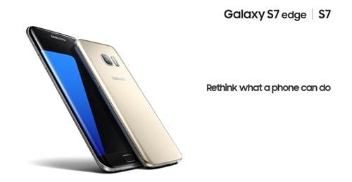 Galaxy S7トップ画像