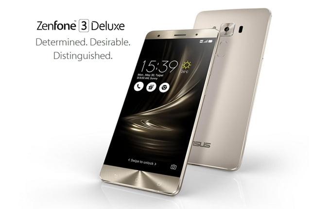 Zenfone 3 Deluxe ZS570KL本体画像