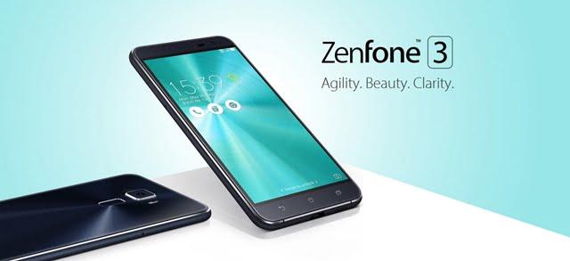 ZenFone3 ZE552KL本体画像