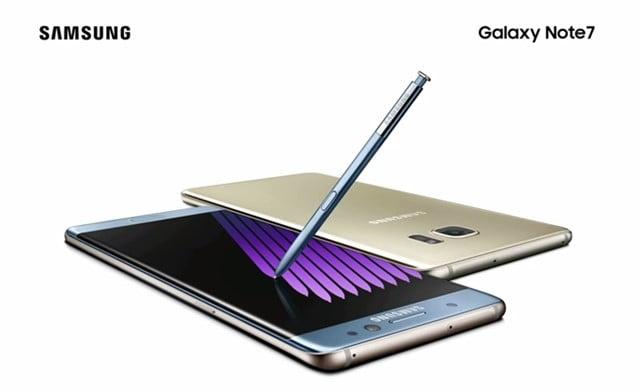 Galaxy Note7の価格や発売日、評判は?トップ画像
