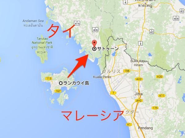 マレーシアからタイへ入国
