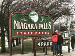 アメリカ側から見るナイアガラの滝