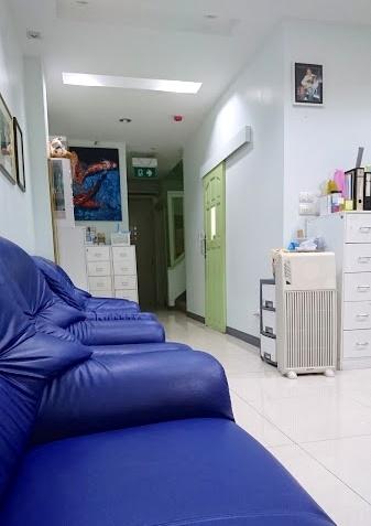 ポンサク歯科クリニックの受付