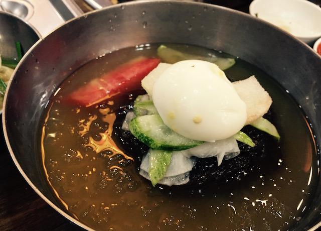 ウルチ・ミョノッ(乙支麺屋)の冷麺