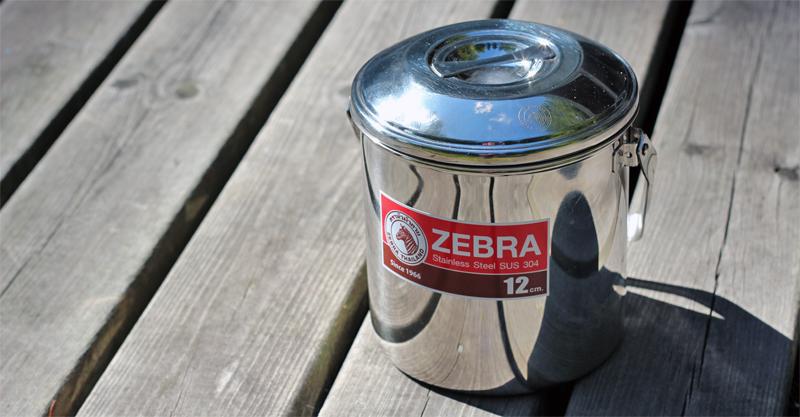 Zebra Billy Can 12 cm