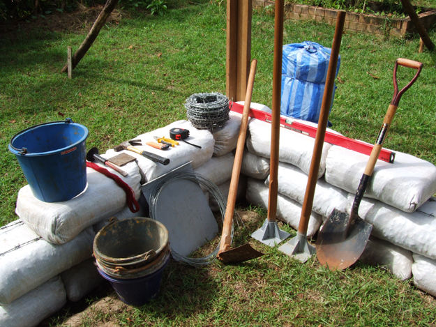 Earthbag Building Tools