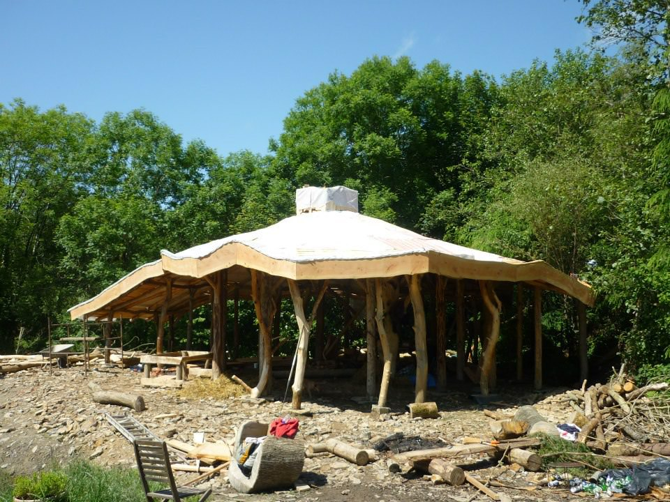 Natural home roof