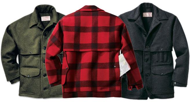 Filson mackinaw jacket