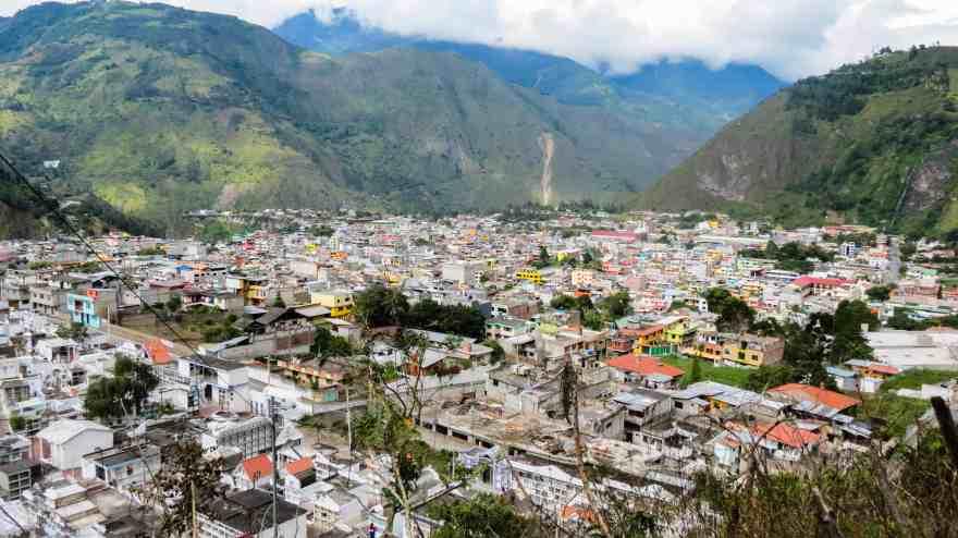 City of Baños, Ecuador